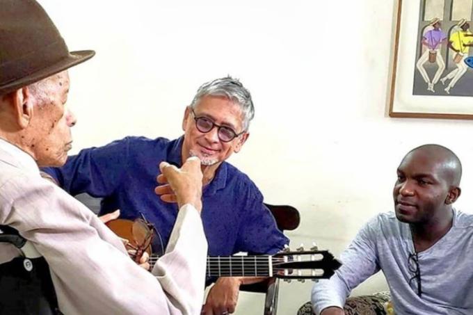 Elton Medeiros, Vidal Assis e Zé Renato