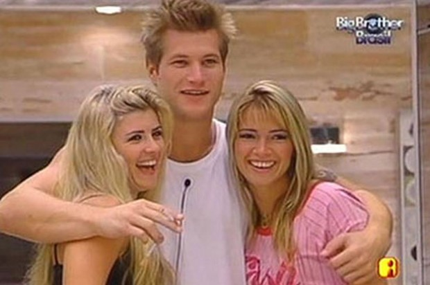 íris, Diego Akemão e Fani no Big Brother 7