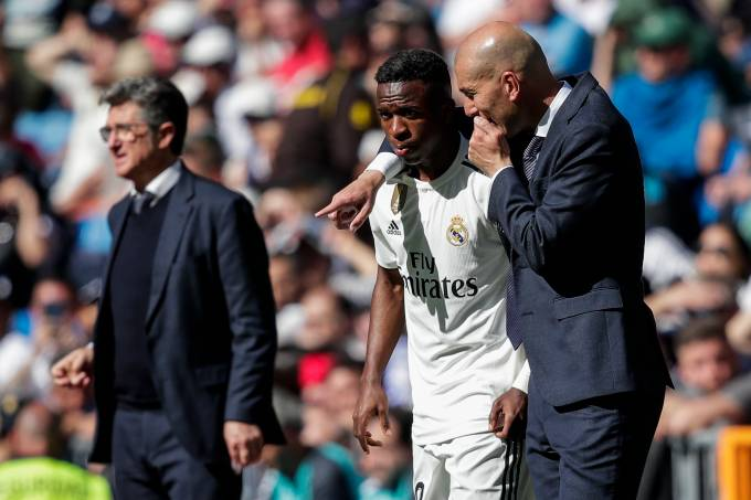 Vinícius Junior e Zidane – Real Madrid
