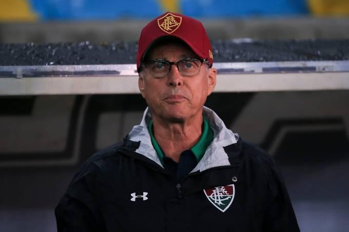 Oswaldo de oliveira Fluminense v Santos – Brasileirao Series A 2019