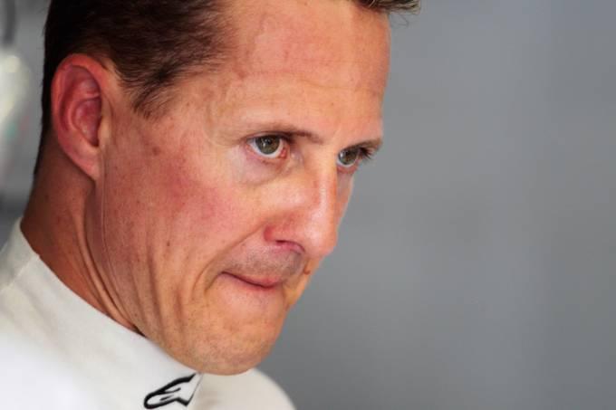 Michael Schumacher, durante GP da Espanha de 2011