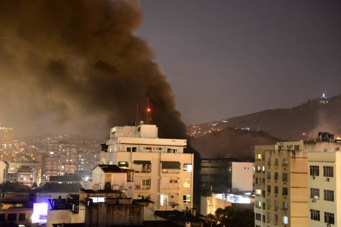 Incêndio no Hospital Badim no RJ