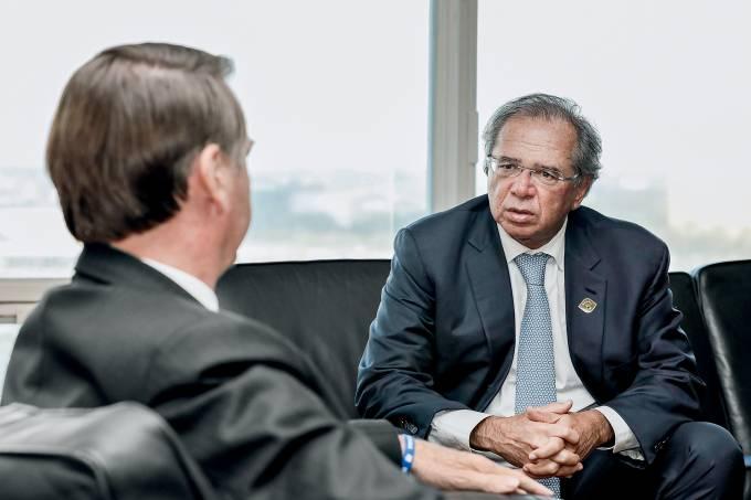 06/05/2019 Reunia¿o com o Ministro da Economia, Paulo Guedes