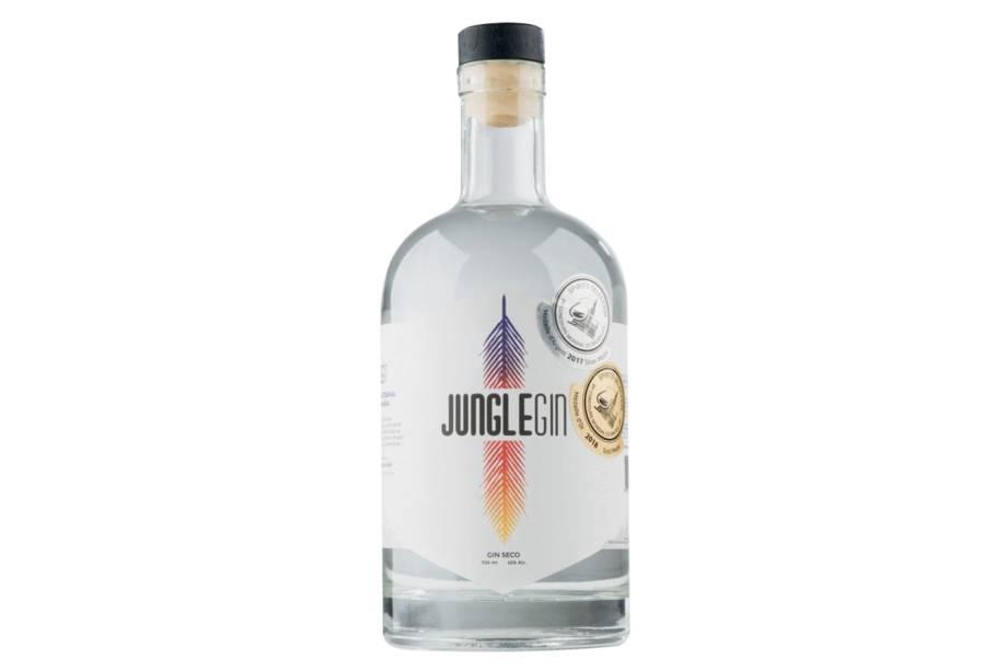 Jungle Gin - Fabricante: Quinta das Castanheiras - Ingredientes: canela e manjericão - Preço: R$ 105,99