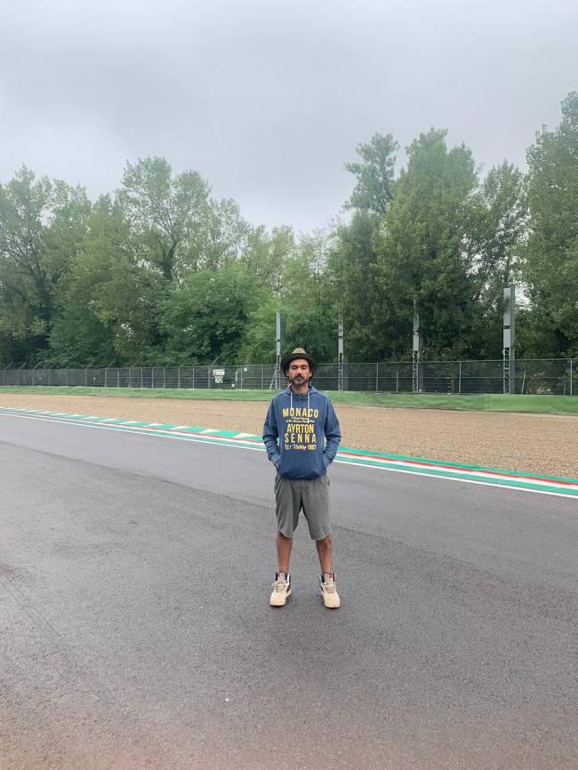 Ediardo Kobra no GP de San Marino