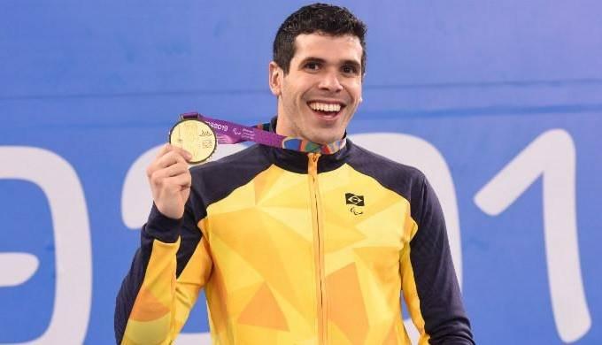 Nadador Phelipe Rodrigues conquistou oito medalhas em Lima