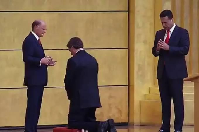 Jair Bolsonaro e Edir Macedo