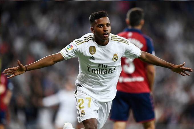 Rodrygo Real Madrid Campeonato Espanhol