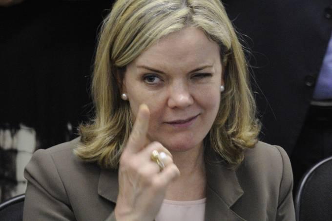 Deputada federal Gleisi Hoffmann