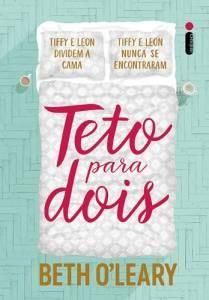 """Capa do livro: """"Teto Para Dois"""""""