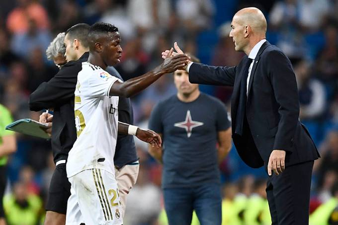 Vinicius Jr. Real Madrid Zidane