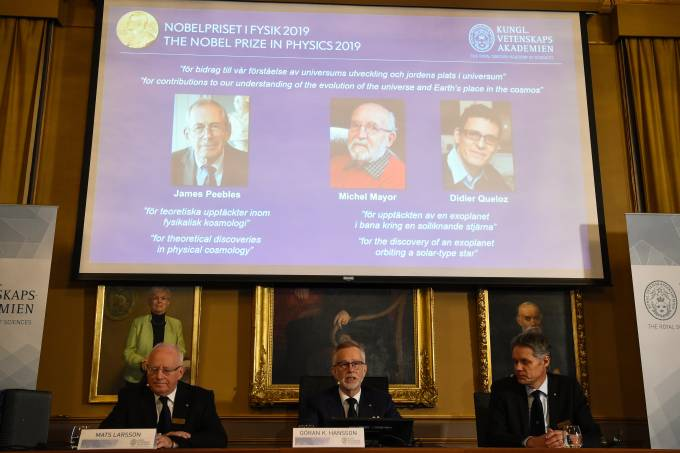 SWEDEN-NOBEL-PHYSICS