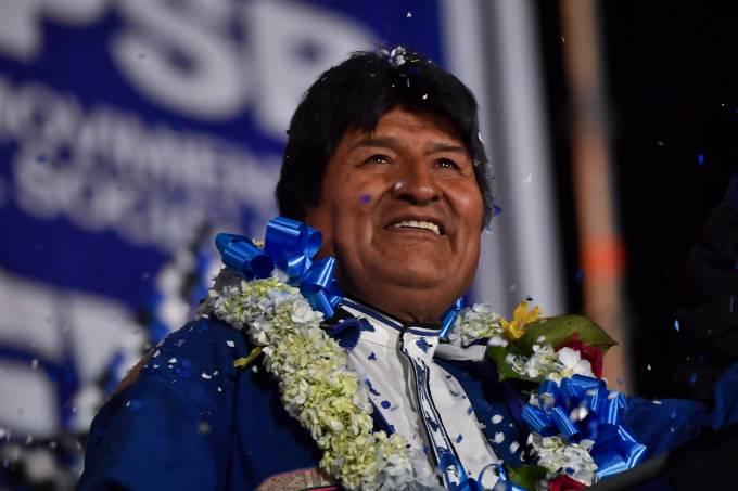 BOLIVIA-ELECTION-CAMPAIGN-MORALES