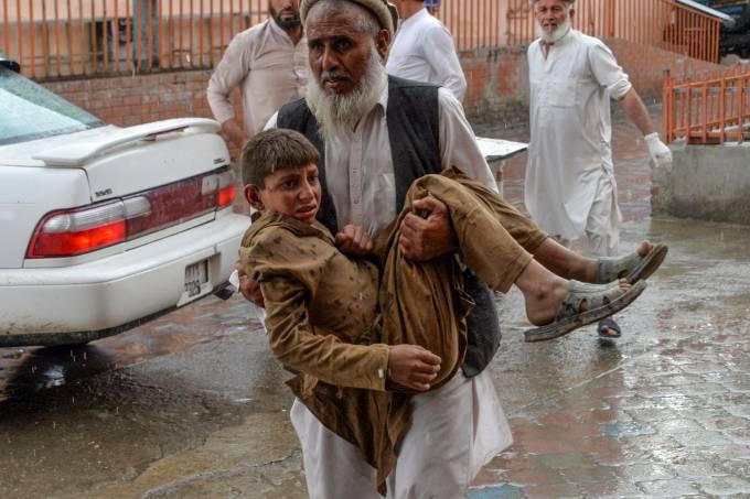 AFGHANISTAN-MOSQUE-BLAST