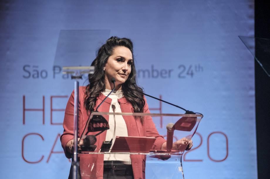 Malu Weber, diretora de Comunicação da Johnson & Johnson Medical Devices na América Latina