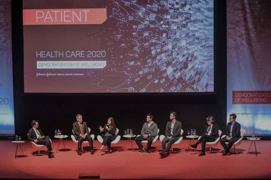 O painel 3 tinha como objetivo falar sobre o paciente do futuro