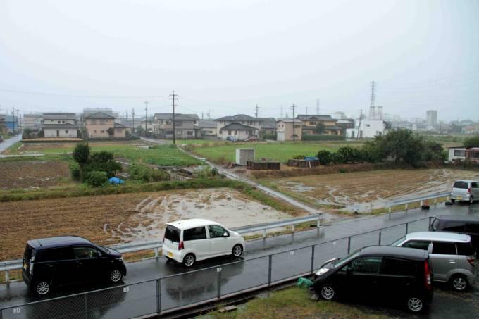 Tufão Hagibis atinge o Japão