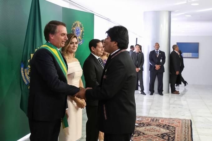 01/01/2019 Cumprimento dos Chefes de Delegações Estrangeiras