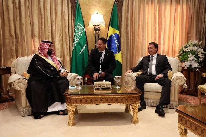 29/10/2019 Encontro com Sua Alteza Real, Mohammed bin Salman, Pr