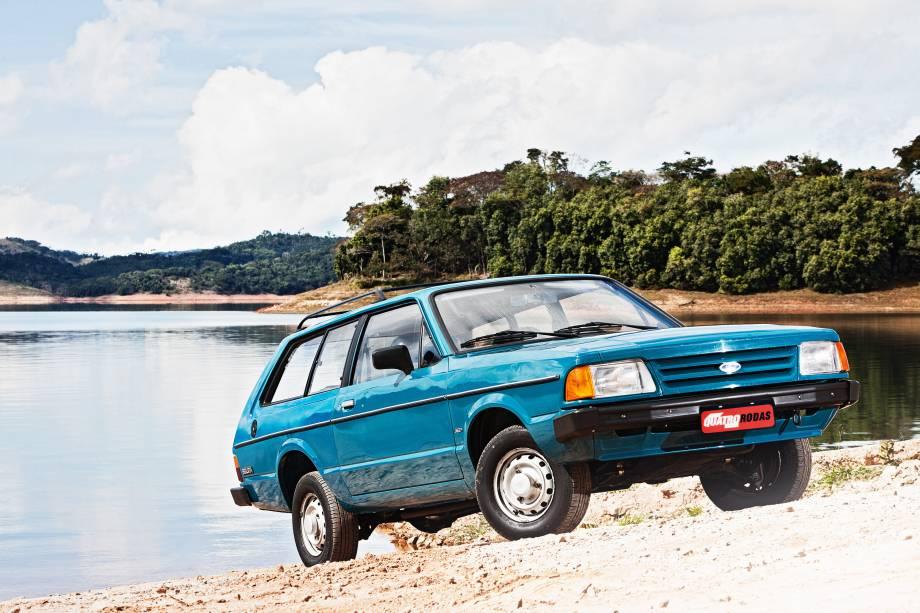 Belina 4x4 modelo 1986 da Ford