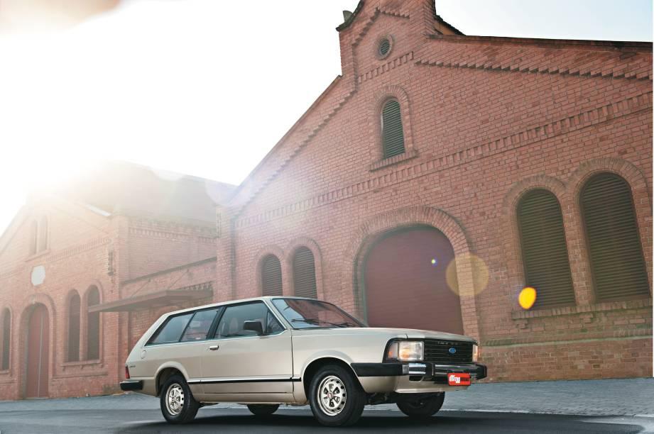 Belina II modelo 1984 da Ford, que pertence ao engenheiro Luis Vital Vianna.
