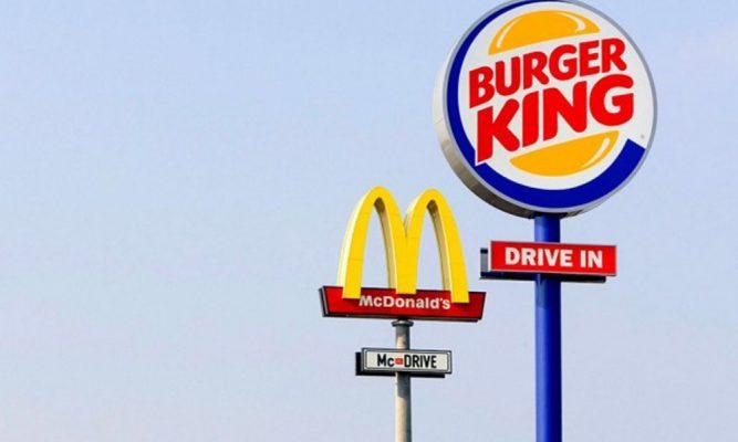 Burger king Mc Donalds