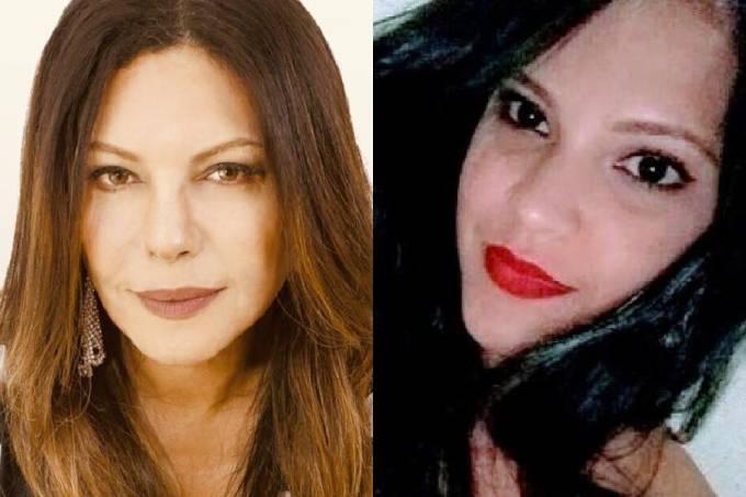 A apresentadora Márcia Goldschmidt e a brasileira Camila da Silva Mendes, morta pelo namorado em Portugal