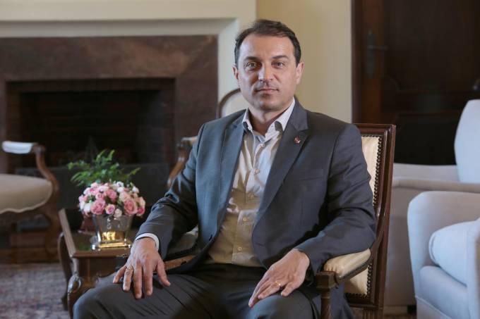 Governador Carlos Moisés. Foto: Mauricio Vieira.