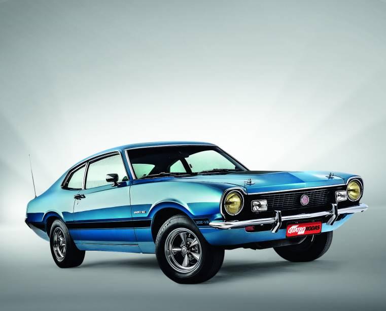 Automóvel Maverick Quadrijet 1975, da Ford.