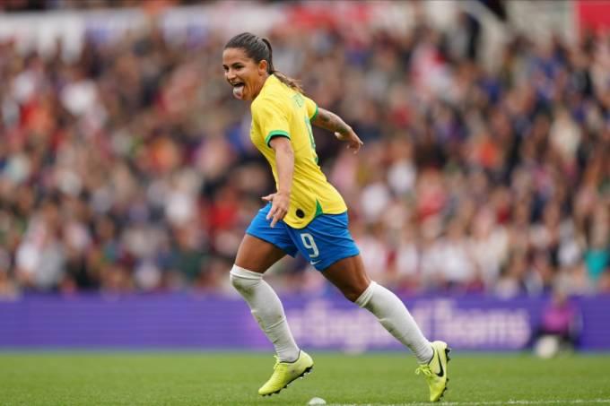 Debinha Seleção brasileira feminina amistoso
