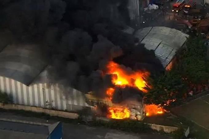 Incêndio no galpão da Independente Tricolor