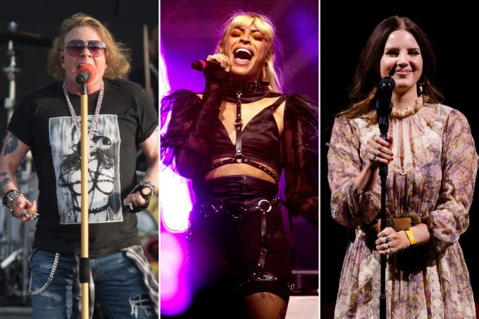 Axl Rose, Pabllo Vittar e Lana Del Rey estarão no Lollapalooza Brasil 2020