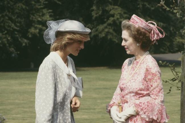 Princesa Diana se reconciliou com a madrasta três anos antes de seu trágico acidente de carro