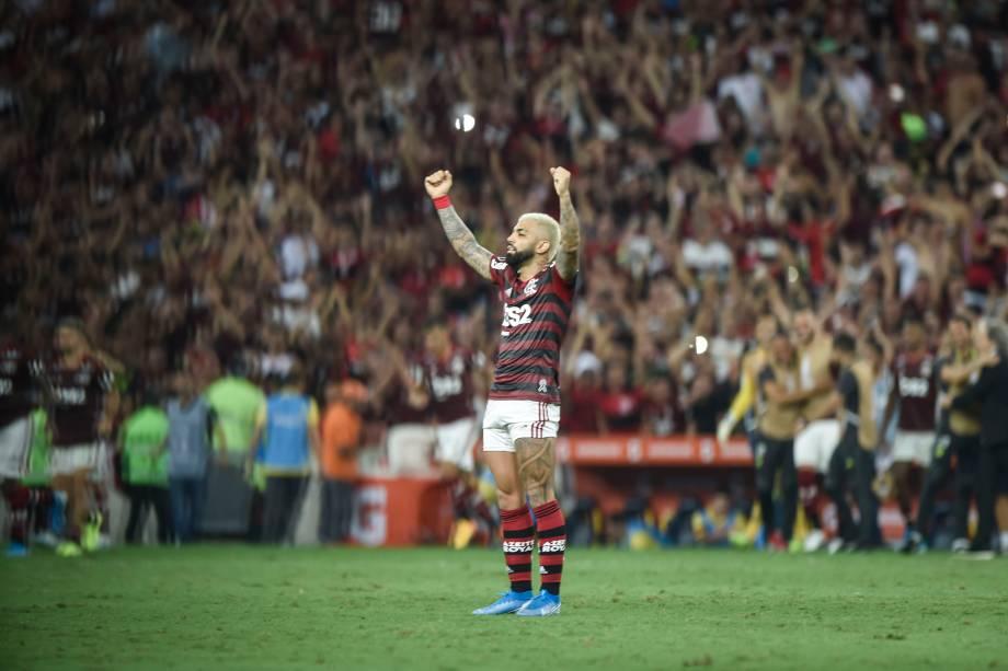 Flamengo x Grêmio pela semifinal da Libertadores 2019, no Maracanã