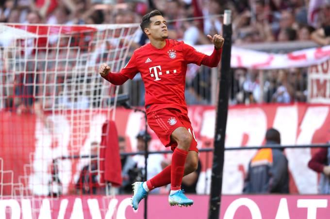 Philippe Coutinho já marcou dois gols pelo Bayern de Munique
