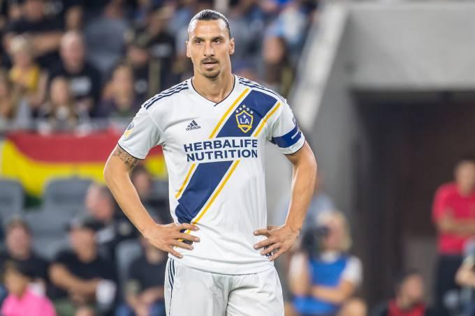 Zlatan Ibrahimovic na derrota do Los Angeles Galaxy no clássico local