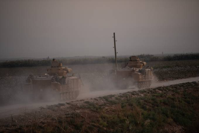 Turkey Moves Forces Into Northern Syria