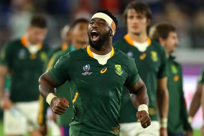 Siya Kolisi – Copa do Mundo de Rugby