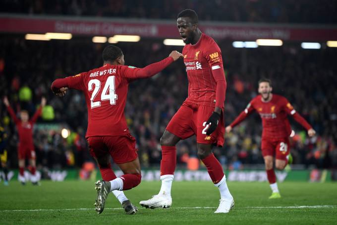 Liverpool x Arsenal – Copa da Liga Inglesa