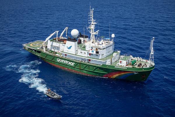 Navio do Greenpeace