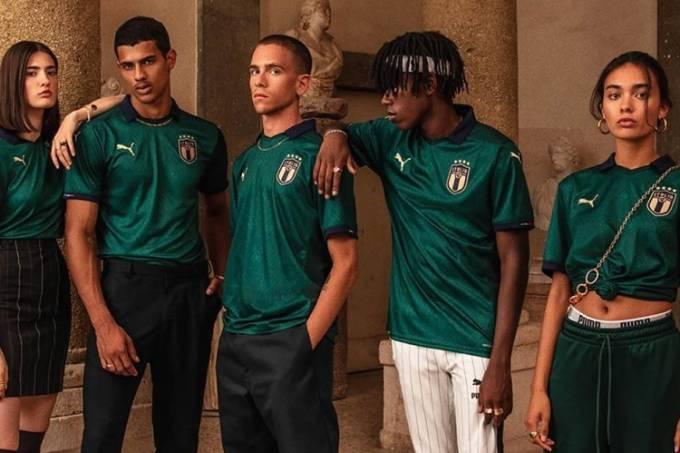 Nova camisa 'Renascentista' da Itália