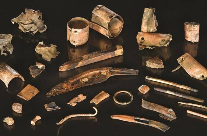 Ferramentas da Idade do Bronze