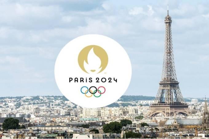 Logotipo da Olimpíada de Paris-2024