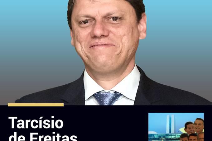 Podcast Funcionário da Semana: Tarcísio de Freitas