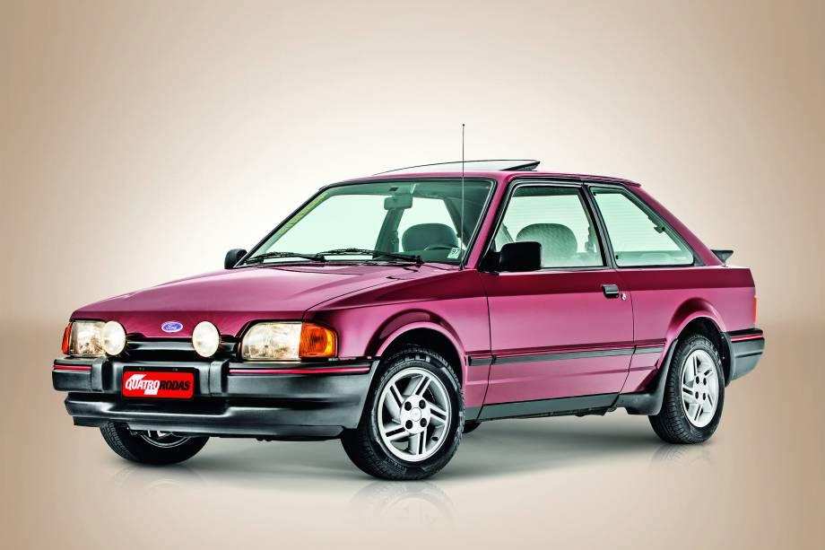 O Escort XR3 modelo 1988