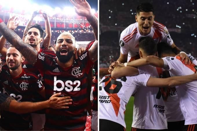 Abre de Flamengo e River Plate