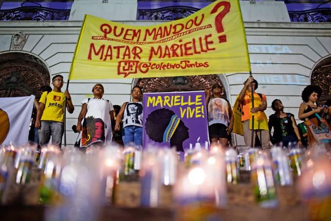 REVOLTA – Protesto no centro do Rio: guerra entre poderes e nenhuma resposta sobre a morte de Marielle