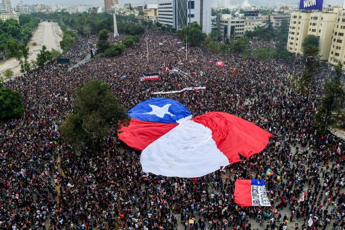 CHILE-CRISIS-PROTEST