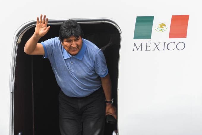 MEXICO-BOLIVIA-CRISIS-MORALES-ARRIVAL