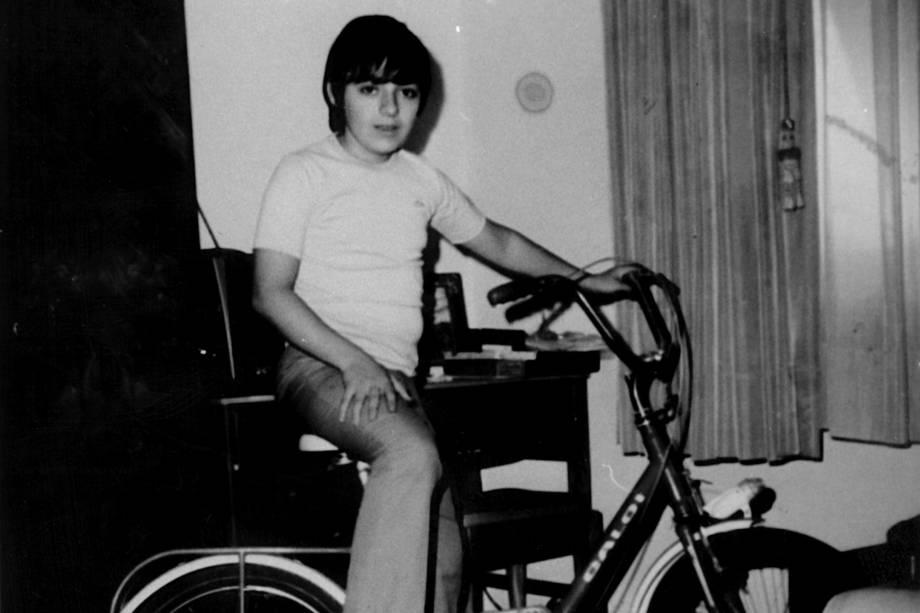 Gugu Liberato aos 11 anos, em 1970